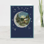 """Moonlight in Vermont Holiday Card<br><div class=""""desc""""></div>"""