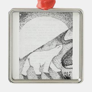Moonlight Journey Polar Bear Ornament