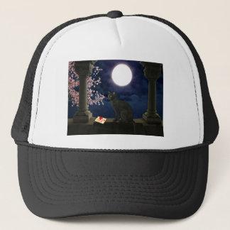 Moonlight Kitty Trucker Hat