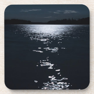 Moonlight lake coaster