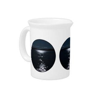 Moonlight lake drink pitcher