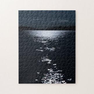 Moonlight lake jigsaw puzzle
