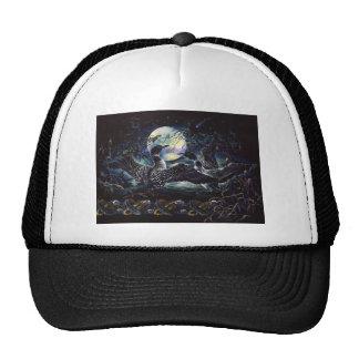 Moonlight Loon Dance Trucker Hat