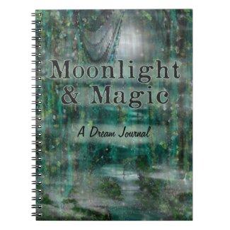 Moonlight & Magic Dream Journal Spiral Note Books