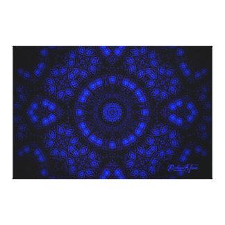 Moonlight Mandala Canvas Print