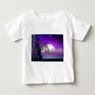 Moonlight Missing You Baby T-Shirt