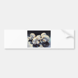 Moonlight Mushrooms Bumper Sticker