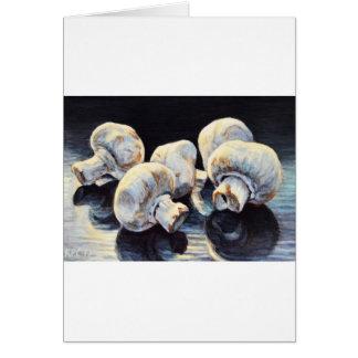 Moonlight Mushrooms Card