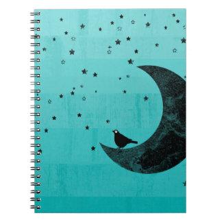 Moonlight Spiral Note Books
