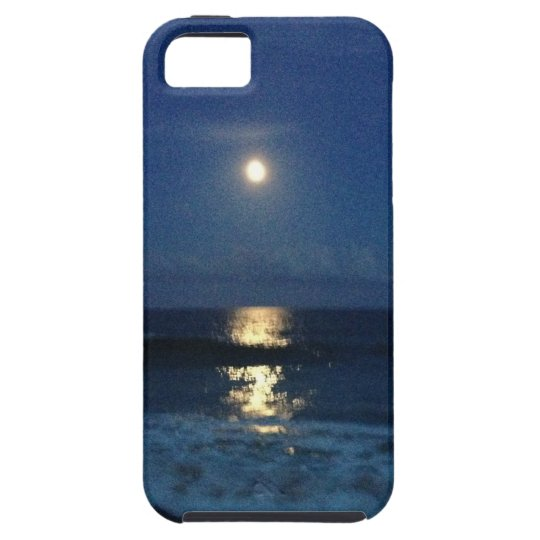 MOONLIGHT on the BEACH iPhone SE/5/5s Case