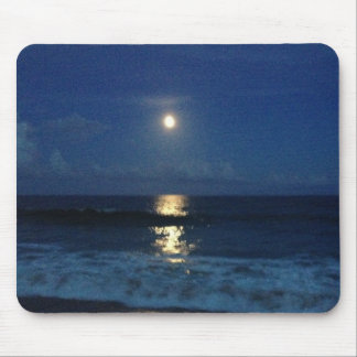 MOONLIGHT on the BEACH Mouse Pad
