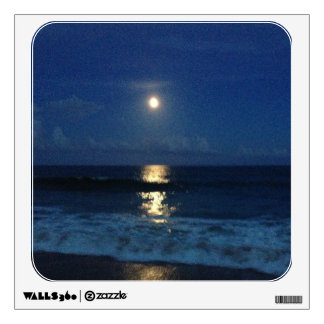 MOONLIGHT on the BEACH Wall Sticker