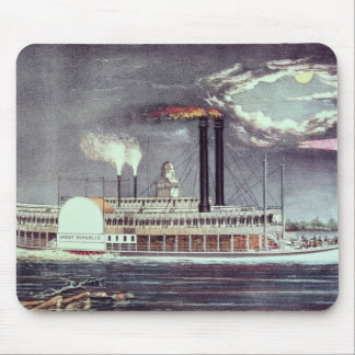 Moonlight on the Mississippi Mouse Pad