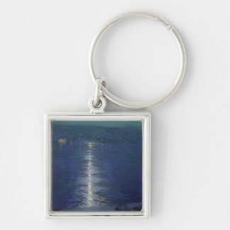Moonlight on the River, 1919 Keychain