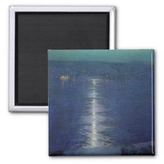 Moonlight on the River, 1919 Magnet