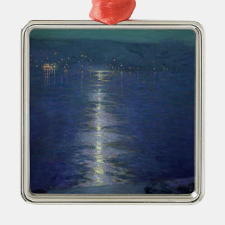 Moonlight on the River, 1919 Metal Ornament