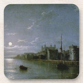 Moonlight on the Thames Beverage Coaster