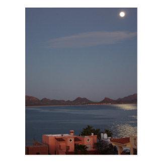 Moonlight Over San Carlos Postcard