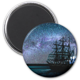 Moonlight Over the Cape Fear Magnet