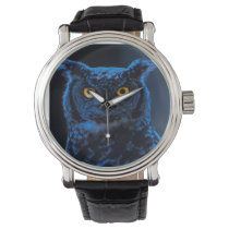 Moonlight Owl Wristwatch