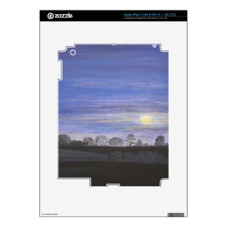 Moonlight Painting Skins For iPad 3