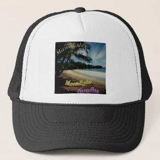 Moonlight Paradise Hamoa Beach Maui Trucker Hat
