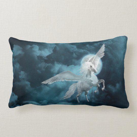 Moonlight pegasus lumbar pillow