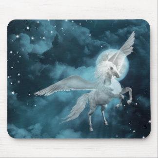moonlight pegasus mouse pad