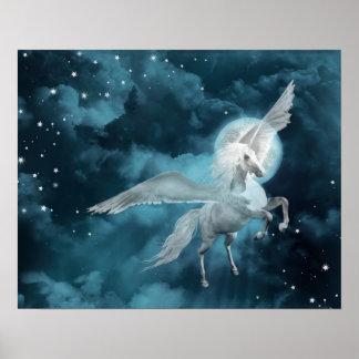 moonlight pegasus poster