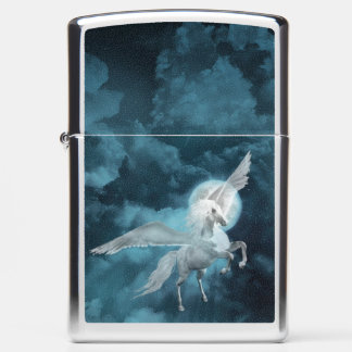 Moonlight pegasus zippo lighter
