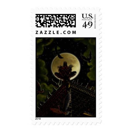 Moonlight Perch Postage