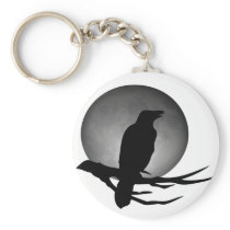 moonlight raven keychain