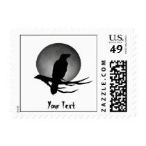 moonlight raven postage