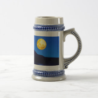 Moonlight rising 18 oz beer stein