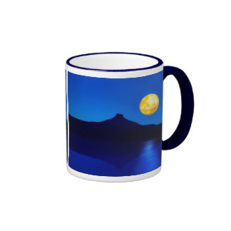 Moonlight rising ringer coffee mug