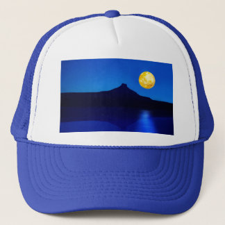 Moonlight rising trucker hat