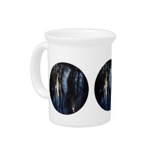 Moonlight river pattern beverage pitcher