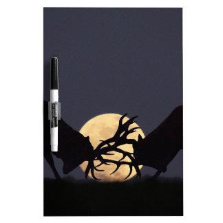 Moonlight Rut Dry Erase Whiteboard