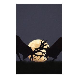 Moonlight Rut Customized Stationery