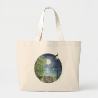 Moonlight Sail Tote Bag