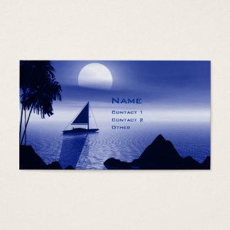 Moonlight Sail Business Card