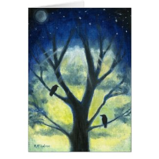 Moonlight Sentinals Greeting Cards