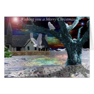 Moonlight Shadow - Christmas Card