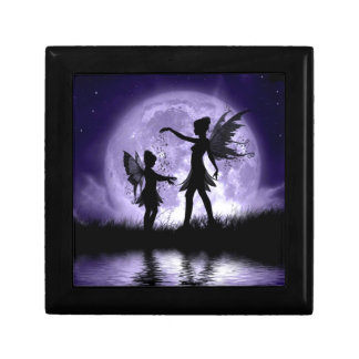 Moonlight Sihouettes Jewelry Box