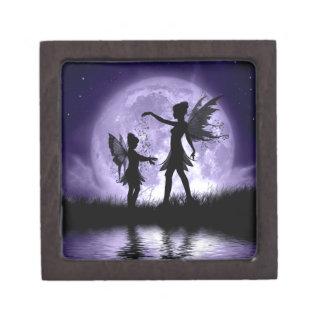 Moonlight Sihouettes Premium Keepsake Box