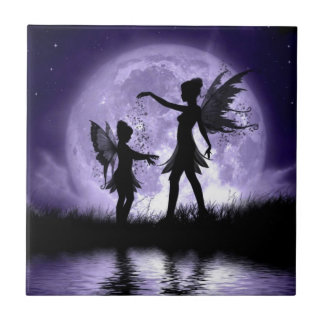 Moonlight Sihouettes Tile