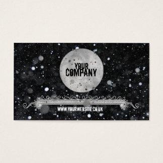 Moonlight Snow Business Card