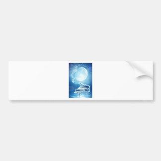 Moonlight Sonata Bumper Sticker
