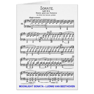 Moonlight-Sonata-Ludwig-Beethoven Cards