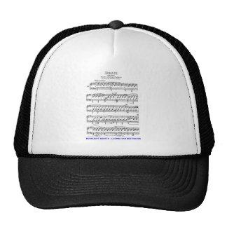 Moonlight-Sonata-Ludwig-Beethoven Trucker Hat